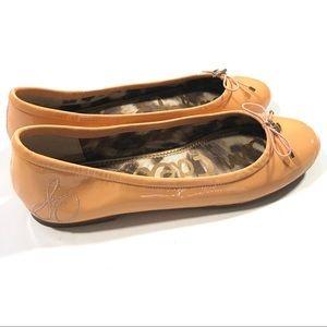Sam Edelman Shoes - Sam Edelman Felicia Ballet Flat Peach Patent